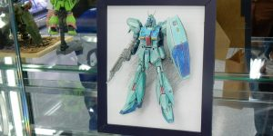 "kyo512a's Amazing HGUC 1/144 Re-GZ painted in ""2d Manga-Style"" Photo Review, Info"