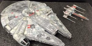 DRAGON x Star Wars The Force Awakens 1/144 MILLENNIUM FALCON: Official Images, Info
