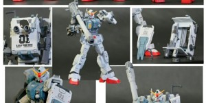 HG 1/144 RX-79G Zerstorer Custom: Work by hafuta12. Photoreview, Info
