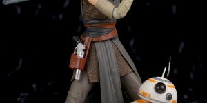 Star Wars S.H.Figuarts REY (The Last Jedi) REVIEW