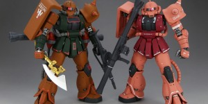 P-Bandai MG MS-06FS Zaku II Garma Zabi use: Work by 高达传教士 Full PHOTO REVIEW
