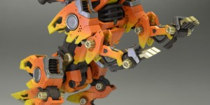 Firefox is NOT only a Browser! Amazing ZOIDS RZ-046 Firefox! Work by kazunori40. Photoreview Big Size Images
