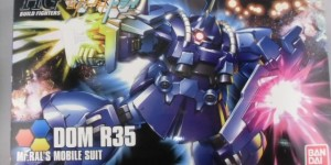 HGBF 1/144 DOM R35: BOX OPEN REVIEW