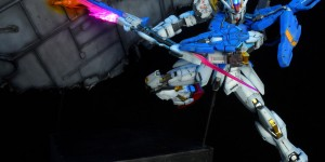 Amazing Gunpla Diorama: MG GAT-X105 Aile Strike Gundam Ver. RM. Work by 最后的月牙天冲 Photoreview Hi Res Images