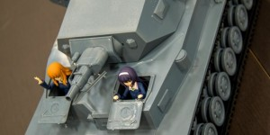 PREVIEW!!! Girls Und Panzer Figma Vehicles 1/12 PANZER IV. No.10 Hi Resolution Images