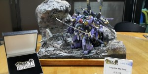 [GBWC 2015] 1/144 Diorama: 魔者大魔 Work by Lung Kar Wai Gary. PHOTO REVIEW