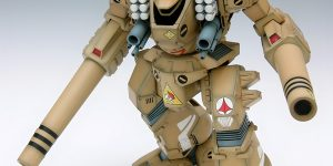 Wave 1/72 MBR-04-MkVI DESTROID TOMAHAWK (Macross Series plastic model kit)