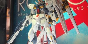 RG 1/144 RX-93 Nu Gundam: August release, 4,536 Yen