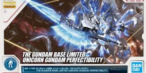 MG 1/100 THE GUNDAM BASE LIMITED UNICORN GUNDAM PERFECTIBILITY