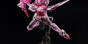 HGBD 1/144 THE GUNDAM BASE LIMITED GUNDAM 00 DIVER TRANS-AM CLEAR