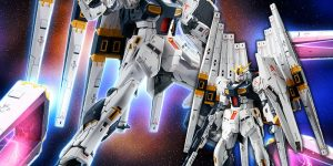P-Bandai RG 1/144 EXPANSION PARTS for Nu GUNDAM DOUBLE FIN FUNNEL CUSTOM UNIT