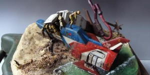 Diorama 1/35 Core Fighter [Want to Protect it] Work by pbqjh776. Photoreview Big Size Images