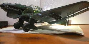 Airfix 1/24 Stuka B-2 NATAT (Lonate Pozzolo / Varese 1941) wip