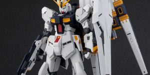 New images RG 1/144 Nu-Gundam released in August 2019 / 4,536 yen