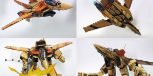 Hasegawa Old Kit 1/72 VT-1 Super Ostrich remodeled and Painted in ANIME STYLE! BELIEVE IT or NOT, this is AMAZING! Full Review + Full WIP. Many Hi Res Images