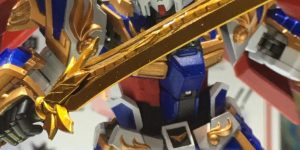 """METAL ROBOT Spirits RYUBI GUNDAM (Real Type Ver.)"""" Out! At the venue, various prototypes were displayed for reference."""