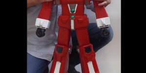 P-Bandai Jumbo soft vinyl figure 1/144 scale IDEON