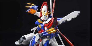 NEW IMAGES HiRM 1/100 God Gundam. October release, Price 14,300 Yen