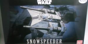 Bandai x Star Wars 1/48 SNOWSPEEDER Box Open REVIEW