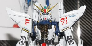 METALBUILD 1/100 GUNDAM F91 on display @ 56th All Japan Model Hobby Show 2016: MANY Big Size Images. [Release date unknown]