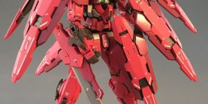 P-Bandai METALBUILD 1/100 GUNDAM ASTRAEA TYPE-F (GN HEAVY WEAPON SET): Just Added No.5 Amazing Big Size Images by Kanetake, Info release too