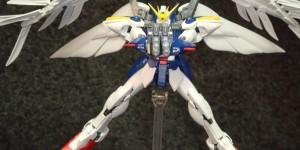 RG 1/144 Wing Gundam Zero EW ASSEMBLED: Full Photoreview No.52 Images, Info