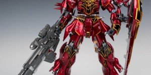 Jim Sung Kun's G-System 1/72 MSN-06S Sinanju: Full Review, Info