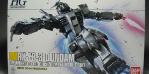 [Gunpla EXPO 2015] HGUC 1/144 RX-78-3 Gundam [G-3 Gundam]: Detailed REVIEW No.33 Images, info, source