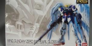 [Gunpla EXPO] RG 1/144 Wing Gundam Zero EW Pearl Gloss Ver. Full Detailed REVIEW No.33 Images,Info, source