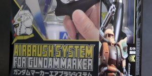 AIRBRUSH SYSTEM for GUNDAM MARKER: Images, Full Info, LINKS (Amazon, Digitamin)