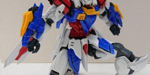 NEW IMAGES HiRM 1/100 God Gundam. 24th October release, Price 14,300 Yen