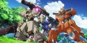 "Gundam Build Divers Ep.16 ""Friends Reunited"" No.50 Screens"