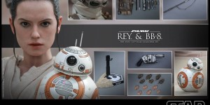 Hot Toys x Star Wars The Force Awakens 1/6 REY and BB-8: Official Photoreview with Full English Info
