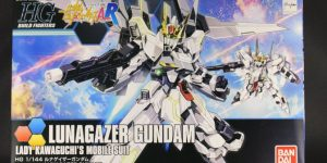 HGBF 1/144 LUNAGAZER GUNDAM: Box Open REVIEW