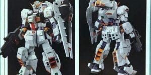 PREVIEW: P-Bandai MG 1/100 RX-121-1 GUNDAM TR-1 [HAZEL CUSTOM], Info release