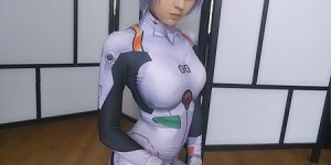 Featuring StitchedSpade as Rei Ayanami cosplay