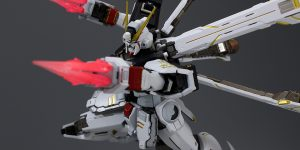 REVIEW METAL BUILD CROSSBONE GUNDAM X1 (No.100 images, credit)