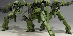 [hobbynotoriko's Full Detailed Review] HG 1/144 Graze Standard Type / Commander Type with No.57 Images, Info