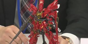 RG 1/144 MSN-06 SINANJU: Just Added NEW CLOSE-UP Images, Info Release