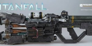 threezero Store Exclusive: TITANFALL Atlas Arc Cannon. Official Images