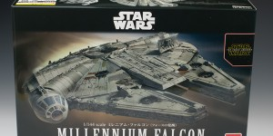 Full Detailed REVIEW: Bandai x Star Wars The Force Awakens 1/144 MILLENNIUM FALCON. No.52 Big Size Images, Info