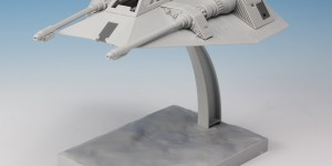 Bandai x Star Wars 1/48 SNOWSPEEDER assembled: PHOTO REVIEW No.36 Images [close-up too]