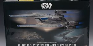 [Full Detailed Review] Bandai x Star Wars ROGUE ONE: 1/144 U-WING FIGHTER and TIE STRIKER. Big Size Images