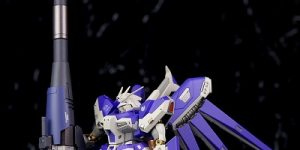 P-Bandai METAL ROBOT SPIRITS Hyper Mega Bazooka Launcher Hi-Nu Gundam use REVIEW