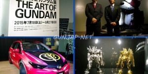 THE ART OF GUNDAM Starts!!!! Full Official PHOTO REPORT. Anime, Gunpla, Zeonic Toyota, Merchandising. Beautiful Report with No.55 Images. ENJOY!