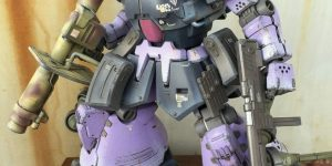 sith_arm's DIORAMA: HGUC 1/144 MS-09F DOMTROPEN 改: Big Size Images