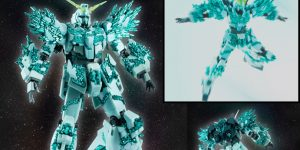 P-Bandai ROBOT魂 RX-0 UNICORN GUNDAM (CRYSTAL BODY VER.) Full Official Images, Info Release