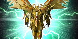 P-Bandai Tamashii Exclusive SDX Gold God Superior Kaiser Gundam: Full Official Promo Posters + No.10 Big Size Images, Info Release