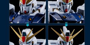 METALBUILD 1/100 GUNDAM F91: [UPDATE] First Official Detailed Review! Info Release
