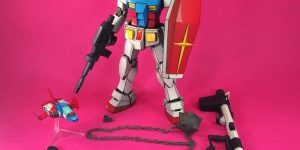 MG 1/100 GUNDAM Ver.2.0 Painted in ANIME STYLE, ON SALE: Full Photo Review, Info
